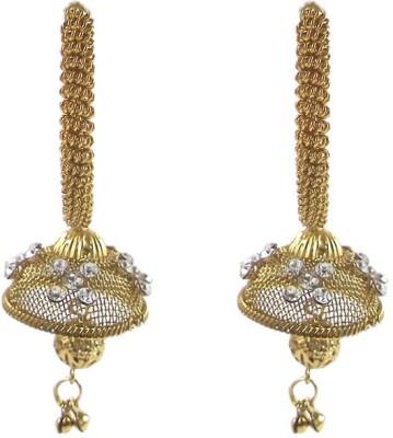 Kenza K_19 Crystal Alloy Jhumki Earring