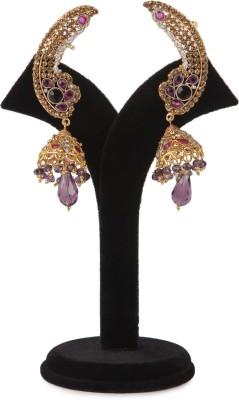Aanya Aanya Voilet Pink Jhumki Copper Jhumki Earring