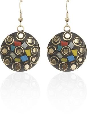 Kalaplanet Multi Color Designer Alloy Dangle Earring
