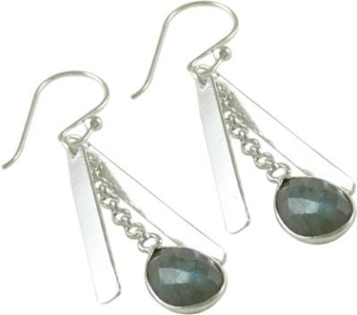 Miska Silver Beautiful Lapis Lazuli Silver Dangle Earring