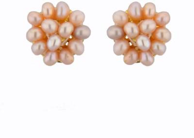 JPearls Fertility Pearl Alloy Stud Earring