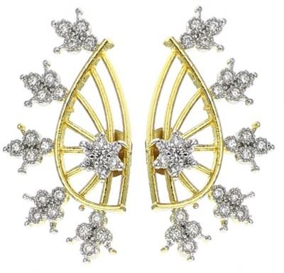 Jewels Galaxy Interchangeable AD Alloy Cuff Earring