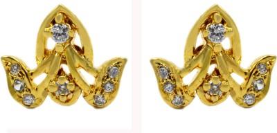 Silvesto India PG-714 Cubic Zirconia Stone Stud Earring