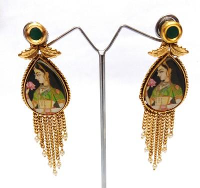 Womaniya Lady Beauty Alloy Drop Earring
