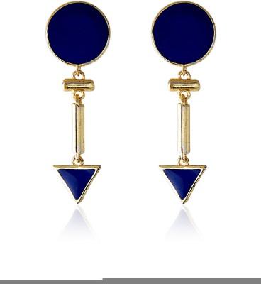 Crunchy Fashion Royal Passion Decadic Alloy Drop Earring