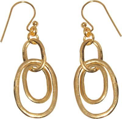 Arvino Multy Circle Sterling Silver Dangle Earring