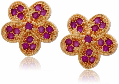 Jewbang Flower December Style Alloy Stud Earring