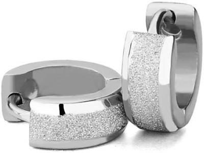 Vaishnavi Spring Sparkle Stainless Steel Hoop Earring