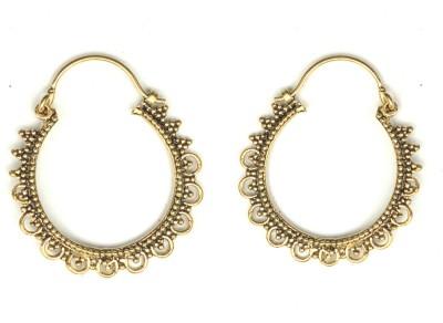 Gurjari Bali Brass Hoop Earring