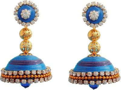 Jyotis Creations Quilling jewellery Alloy Jhumki Earring