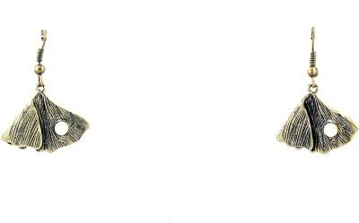 Zidox pearl drop Brass Dangle Earring