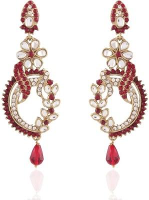 I Jewels Kundan Alloy Drop Earring