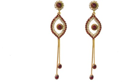 NM Products Long Sparkle Copper Drop Earring