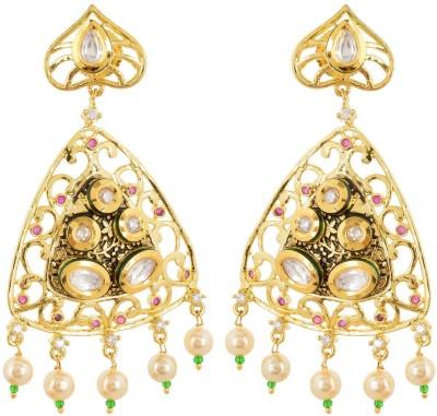 Tsb Retails Antique Brass Drop Earring