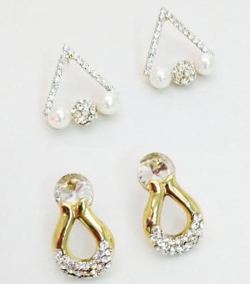 NEHASTORE Combo Offer CB07 Mother of Pearl Alloy Earring Set