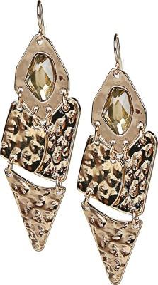 AQ Natalia Golden drop Earrings Acrylic Dangle Earring