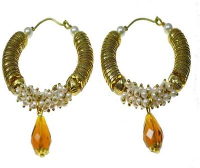 Rasaam Style Diva Alloy Hoop Earring