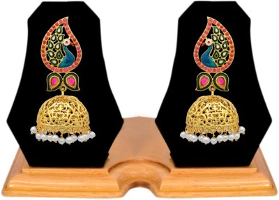 Jewels Galaxy Royal Collection Alloy Jhumki Earring