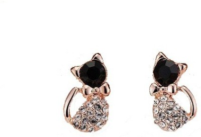 Amour Hello Kitty Crystal Alloy Stud Earring