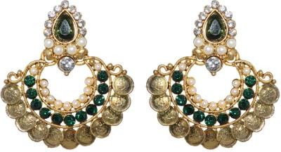 Rabela Laxmi coin Alloy Chandbali Earring