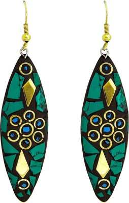 Yogada Handmade002 Brass Dangle Earring