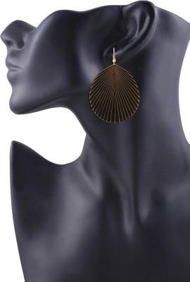 Arittra Fall Design Metal Dangle Earring
