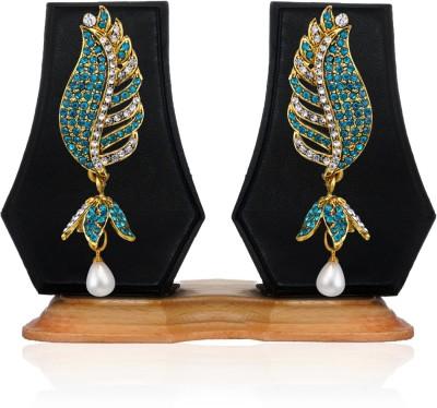 Zaveri Pearls Dazzling Zinc Drop Earring