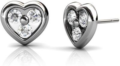 JDX Lina Swarovski Zirconia Silver Stud Earring