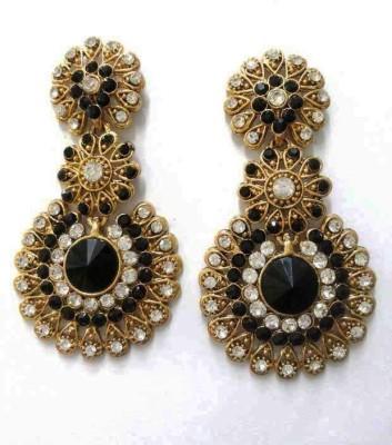 Aarnaa La Trendz Floral Alloy Drop Earring