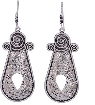 Silvery ME-15-MN Metal Dangle Earring