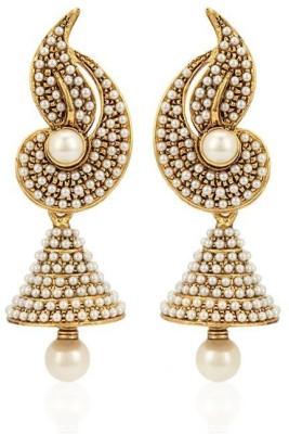 Jewels Guru Diva Style Alloy Jhumki Earring