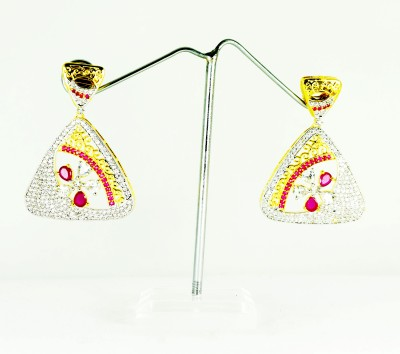 Chouhan Stylish Metal Chandbali Earring