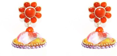 Craftworks jimuka earring Plastic Jhumki Earring