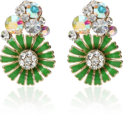 Svelte Unique Exclusive Crystal Alloy Clip-on Earring