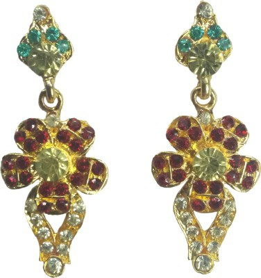 Krazzy Collection Spring Sparkle Alloy Drop Earring