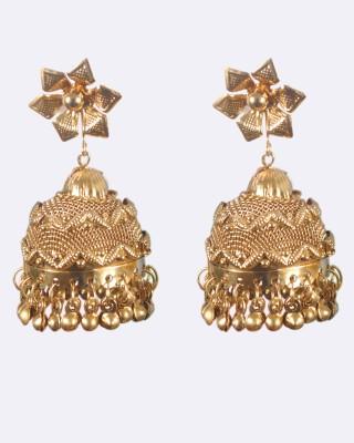 Gajraula Crafts Valentine special Copper Jhumki Earring