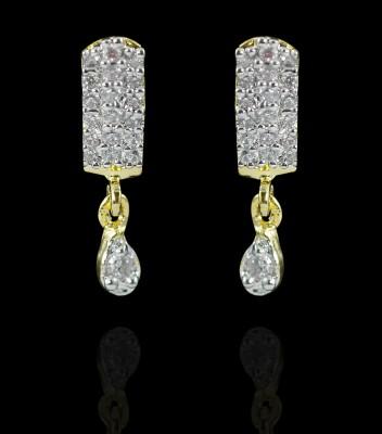 Zaveri Pearls Lovely Brass Drop Earring