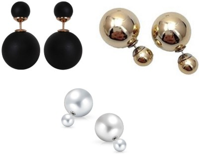 CTW Classic Spring Sparkle Combo Pack Alloy Stud Earring
