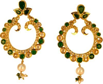Amarsons Pearls Alloy Chandbali Earring