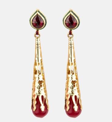 Bridesmaid Copper Hoop Earring