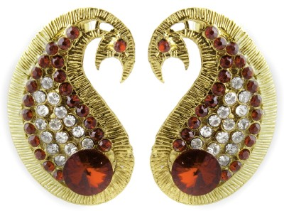 Aaina Home Decor Anvi Cubic Zirconia Copper Stud Earring