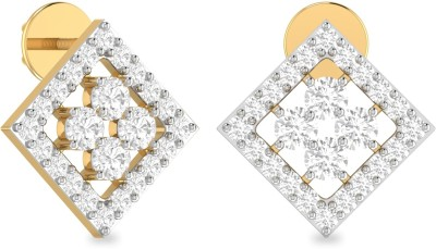WearYourShine by PCJ The Shanny Yellow Gold 18kt Diamond Stud Earring
