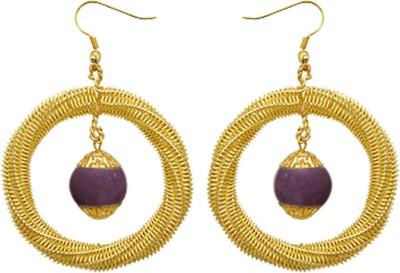 Kenway Retail Dynamic Crew Brass Dangle Earring