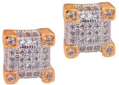 Supershine Jewelry Spring Sparkle Zircon Brass Stud Earring