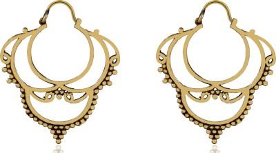 ZeroKaata Arch of the Skies Earrings Brass Hoop Earring