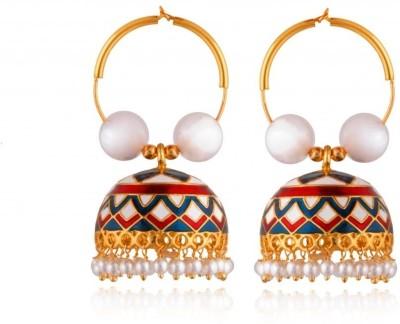 Rooh Jewellery Copper Jhumki Earring