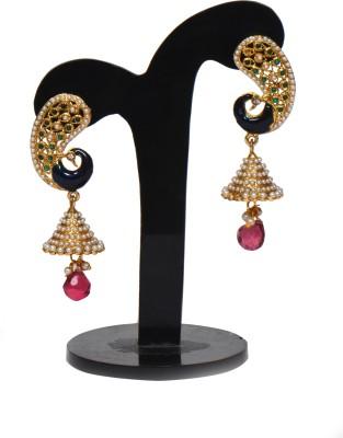 Ratnakar Tritium Copper Jhumki Earring
