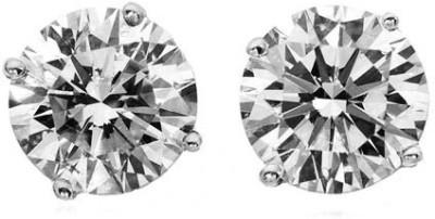 Lexuva 230 Cubic Zirconia Silver Stud Earring
