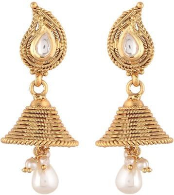 Prita Ethnic Bell Shaped Alloy Jhumki Earring