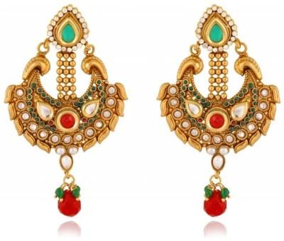 Rooh Jewellery Embelished Copper Drop Earring